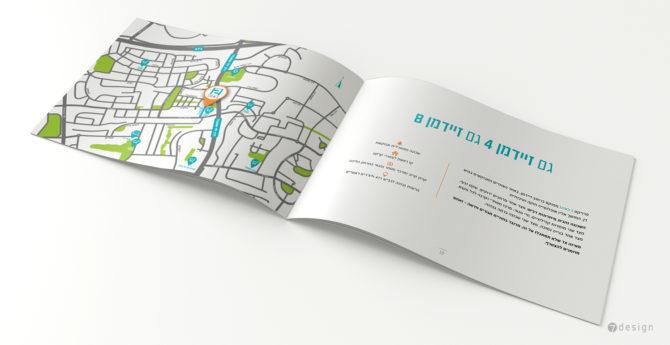 עיצוב מפת סביבת הפרויקט