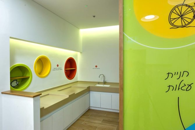 עיצוב גרפי לקירות, חדר שירות ומשפחה
