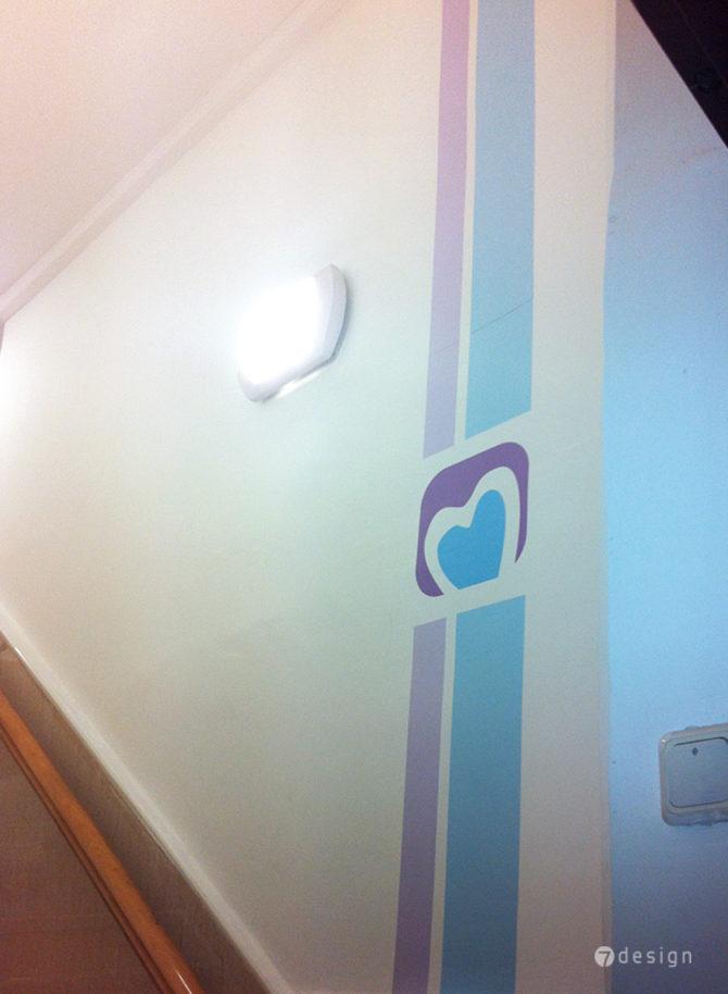 עיצוב מדבקות קיר
